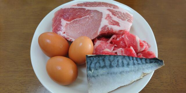 肉はL-カルニチン、魚にはビタミンD