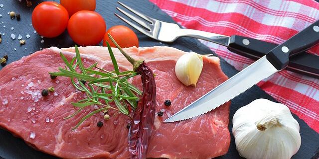 新鮮な生肉